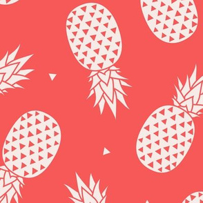 Pineapples - Red