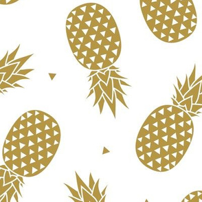 Pineapples - Gold