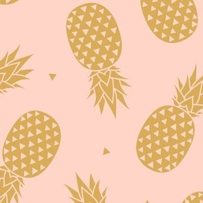 Pineapples Gold Blush
