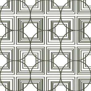 Black White Art Deco