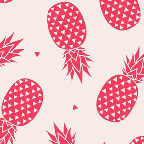 Pineapple - Pink Red