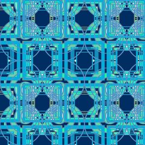 circles triangles blue