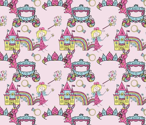 princess fabric by avot_art on Spoonflower - custom fabric