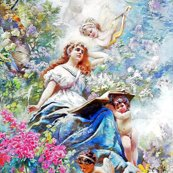 Rrspoonflower-sotheby-wiki-the_muse_of_poesie_by_konstantin_makovsky-brighter-2x-denoise_shop_thumb