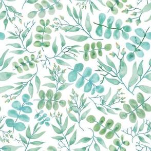 Sprigs of Eucalyp White