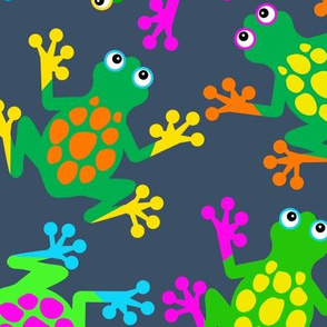 Sticky Finger Frogs Indigo
