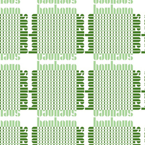 bauhaus grid - white/green