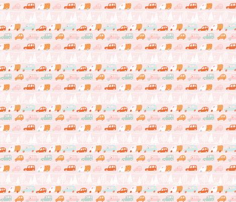 Cute Cars fabric by julia_gosteva on Spoonflower - custom fabric