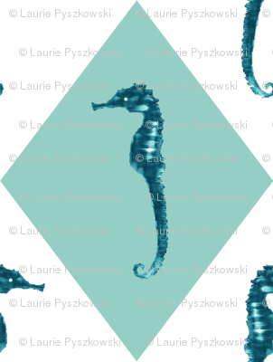 Seahorse Diamond Pattern Play
