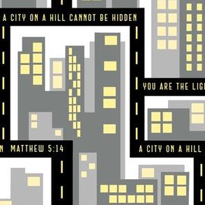 City lights - Matthew 5:14