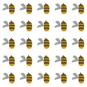 Bees at work // vertical