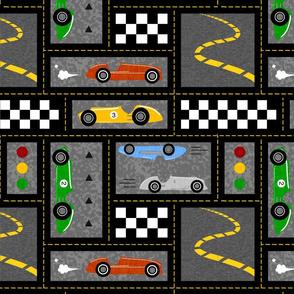 Vintage Racing - Bright