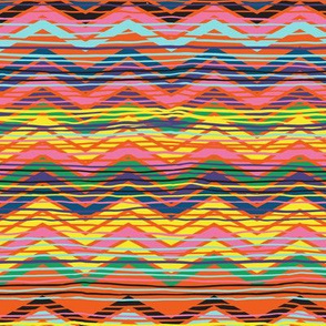 red and yellow chevron 16_0422