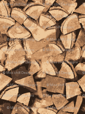 18-06B Wood Brown Tan Tree Camping Rustic Forest Backdrop  Small _ Miss Chiff Designs