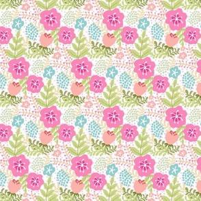 Flamingo Floral Matching Print