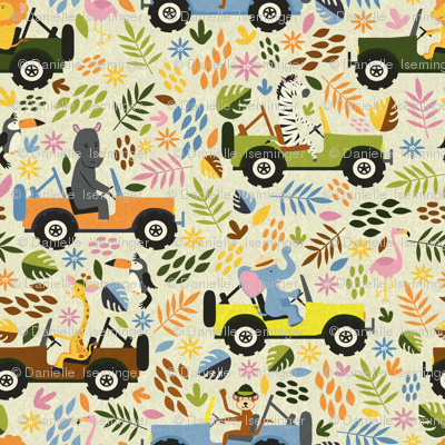 Animals on Safari