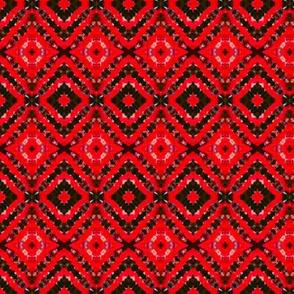 Black & Red Vortex Diamonds