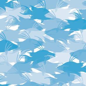 Blue Hogfish Camo Medium