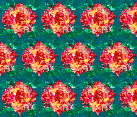 Pioneer Flower fabric by tsierra on Spoonflower - custom fabric