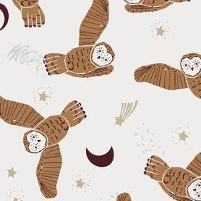 Night Owl (brown) MED