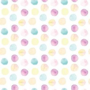 watercolor dots dark