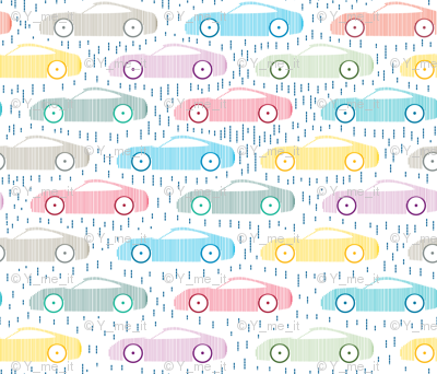 Car-Pastel Color