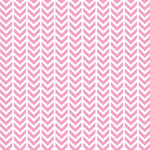 Chevron pink and white