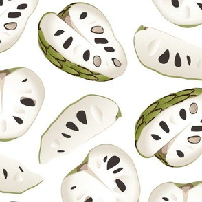 Exotic Chirimoya Fruit