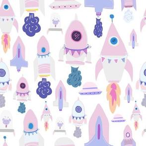 Sparkly Spaceships