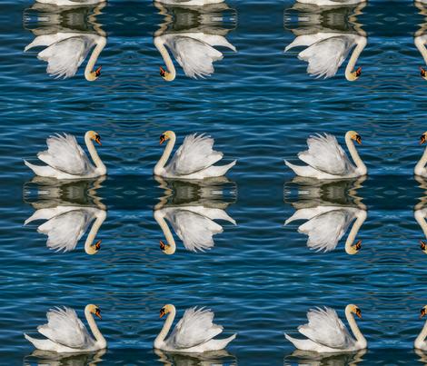 swan-3376622_960_720 fabric by beautifulasyou on Spoonflower - custom fabric