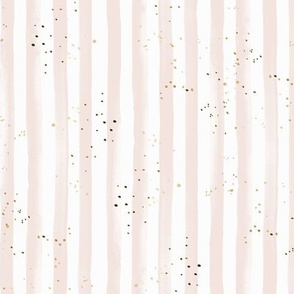 Stripe pink gold dots rotate