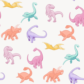 Dinosaurs are for Girls - Full Color, No Background