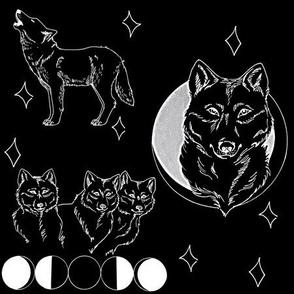 Summer Wolf (Black)