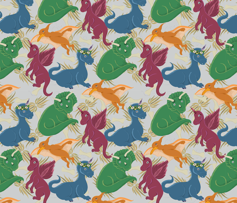 girlawesome fabric by kimberlywarddesign on Spoonflower - custom fabric