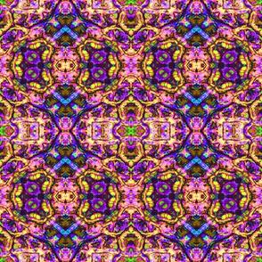 Pink Aztec Mosaic