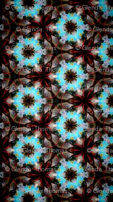 Circles triangles kaleidoscope