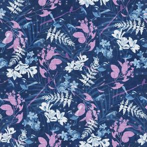 Cyanotype Blue Forest