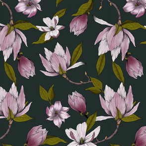 Magnolia Garden on Navy
