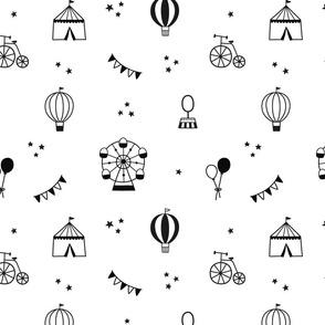 Circus - Black and White