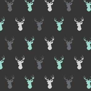 Deer - Custom Teal