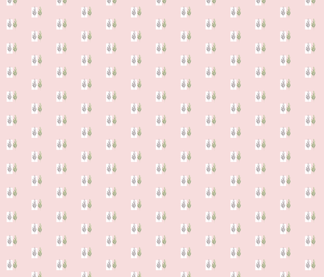 Leaflove pink fabric by youdesignme on Spoonflower - custom fabric