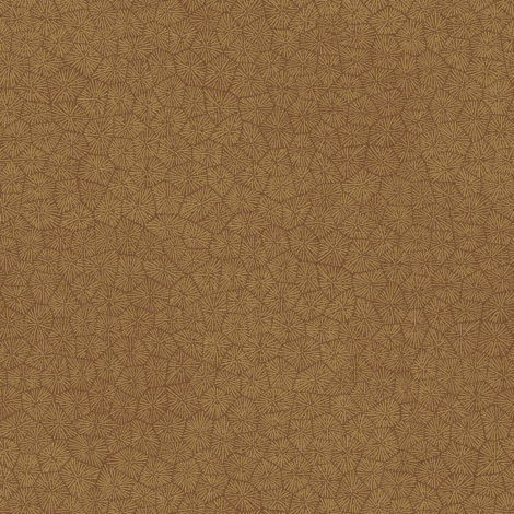 "simplified petoskey stone, caramel on chocolate, 1/3"" fabric by weavingmajor on Spoonflower - custom fabric"