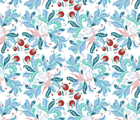 FairyTailPattern1_01 fabric by ksenya on Spoonflower - custom fabric