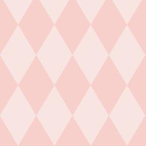 Harlequin Pattern: Rose Gold 3