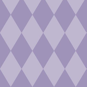 Harlequin Pattern: Violet Purple 2+3, Purple Diamonds