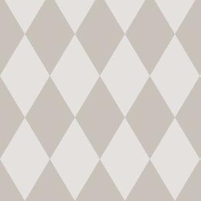 Harlequin Pattern: Warm Gray 2+4, Warm Grey Diamonds