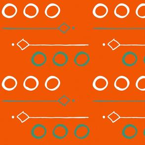 Orange Circles of Life