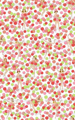 Balloon Dance - coral