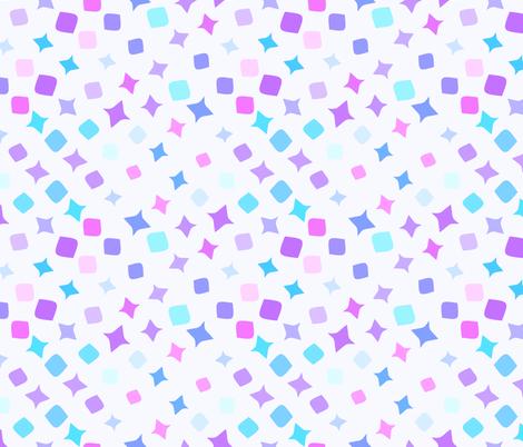 Geometric shapes fabric by tashakon on Spoonflower - custom fabric