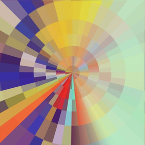 circle of bright colors